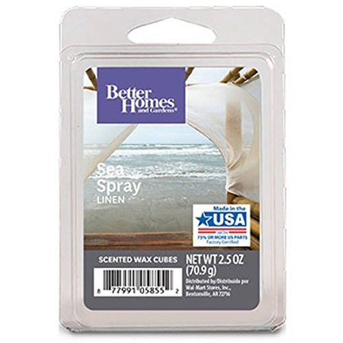 Better Homes and Gardens Sea Spray Linen Wax Cubes - New for