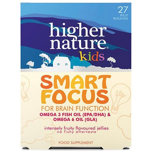 Higher Nature Kids Smart Focus Jellies - Pack of 27 by Higher Nature