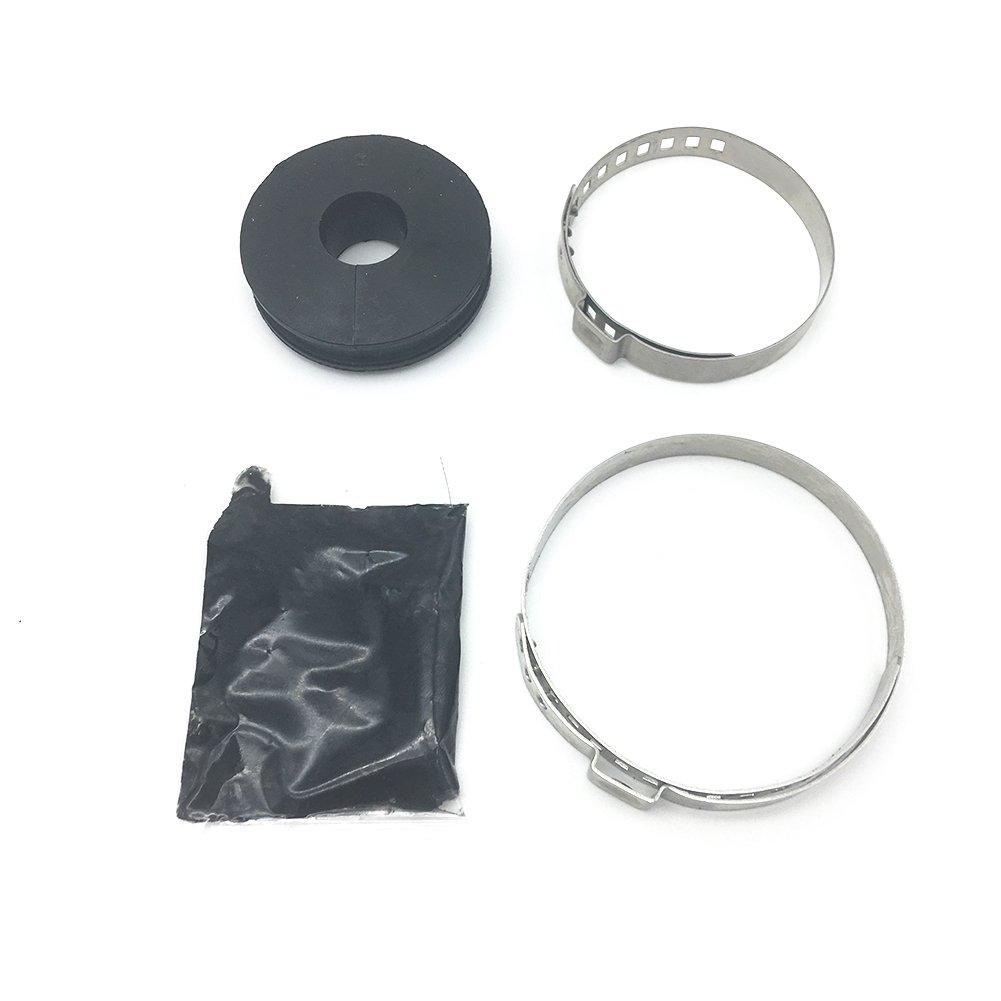 WayJun Front Steering Rack Boot Kit for BMW E46 E85 E86 323i 325xi 328i 330Ci M3 Z4 Replace# 32 13 1 096 910