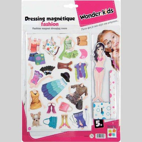 WDK Partner A1300044 - Poupées et mini-poupées - DRESSING MAGNETIQUE