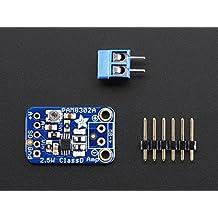 Audio IC Development Tools Adafruit Mono 2.5W Class D Audio Amplifier - PAM8302 (1 piece)