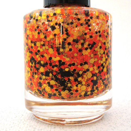 candy corn nails - 8