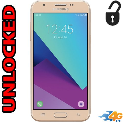 Samsung Sol 2 Unlocked 4G LTE (Cricket) J326AZ 16GB Usa Latin & Caribbean Bands Quad Core Desbloqueado