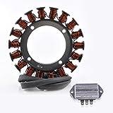 KIT Generator Stator + Voltage Regulator Rectifier For Kohler Tractor CH11-CH15 CV11-CV15 KT17 KT19