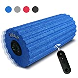 HIRALIY Vibrating Foam Massage Roller 3 Speed High Intensity Rechargeable 12inch Exercise Muscle Roller with Remote Controller for Muscle Recovery,Pain Relief,Physical Therapy and Myofascial Release For Sale