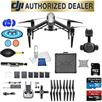DJI Inspire 2 Quadcopter Kit with Zenmuse X4S Best Accessory Basic Bundle Package Deal