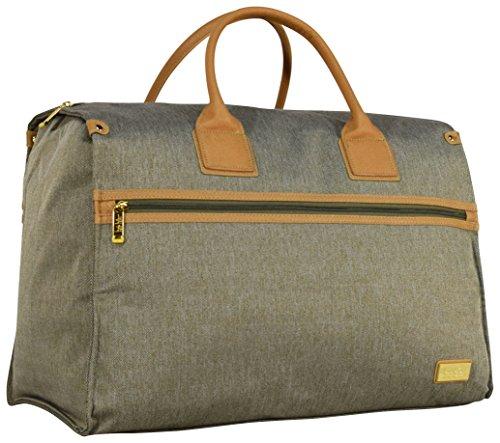 Nicole Miller New York Luggage Taylor Box Bag (Green)