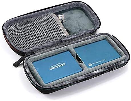 Honbobo Estuche portátil para Samsung T3 / T5 SSD portátil 250GB 500GB 1 TB 2 TB: Amazon.es: Electrónica