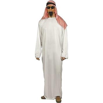 Traje árabe atuendo oriental disfraz vestuario: Amazon.es ...