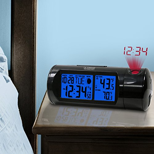 lacrosse projection alarm clock Buy la crosse technology 616-1412 projection alarm clock with indoor temperature at staples' low price, or read our customer reviews to learn more now.