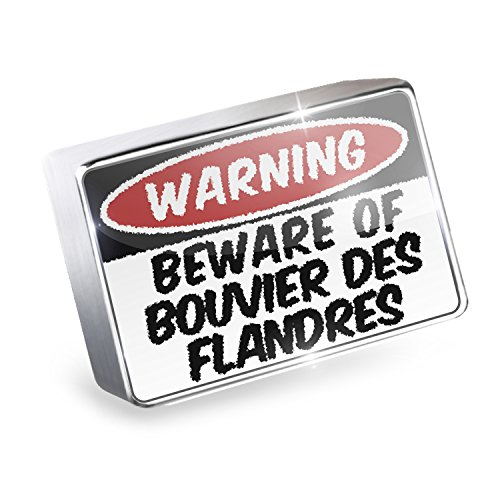 Floating Charm Beware of the Bouvier des Flandres Dog from Belgium Fits Glass L ()