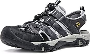 Atika At-w107-kgy_women 8 B(f) Women's Sports Sandals Trail Outdoor Water Shoes 3layer Toecap W107 0
