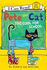 New York Times bestselling author and artist James Dean brings readers along for agroovy adventure at school with Pete the Cat!              Pete the Cat can't decide what to wear to school in Pete the Cat: Too Cool for Schoo...