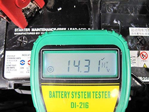 DLG DI-216 Automotive Battery Tester Vehicle Car Battery System Analyzer Diagnostic Tool by DLG (Image #8)
