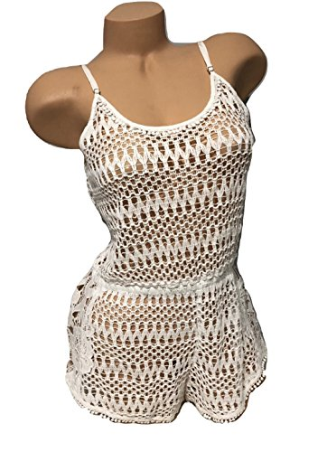 Victorias Secret Cover Up - Victoria's Secret, Crochet Romper Swim Cover-up White, NWT (Medium)