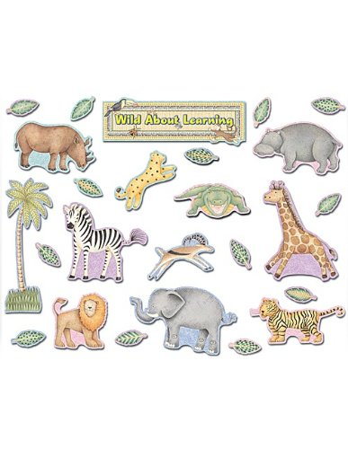 Teacher Created Resources Wild About Learning Bulletin Board Set from Debbie Mumm (4522) ()
