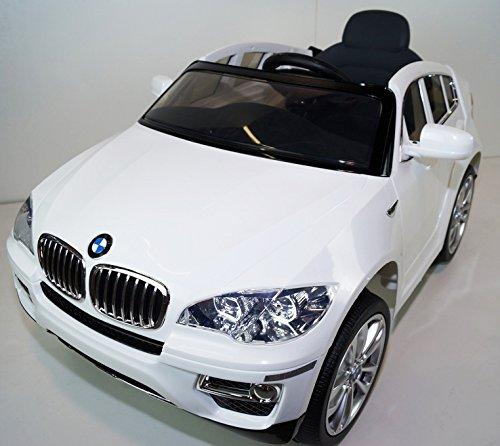 Bmw X6 Toy Car: Premium Edition 12v BMW X6 SUV Kids Ride On Toy Car, Doors
