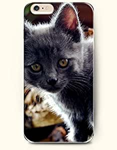 Case Cover For SamSung Galaxy S4 Mini es Furry Black Cat - Hard Back Plastic Phone Cover Authentic