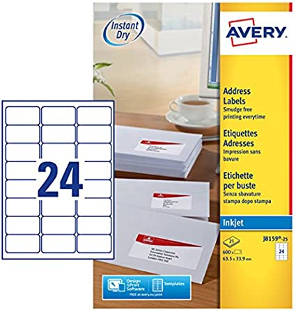 A4 eParcel Address Labels 250 Sheets 4 X105mm X148mm. Mailing Sticker 4 UP