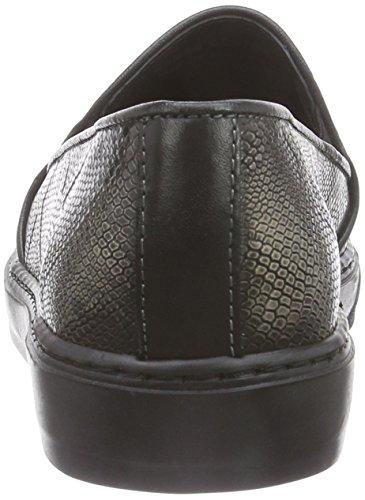Bronx BmecX - zapatilla deportiva de piel mujer multicolor - Mehrfarbig (pewter / 102)