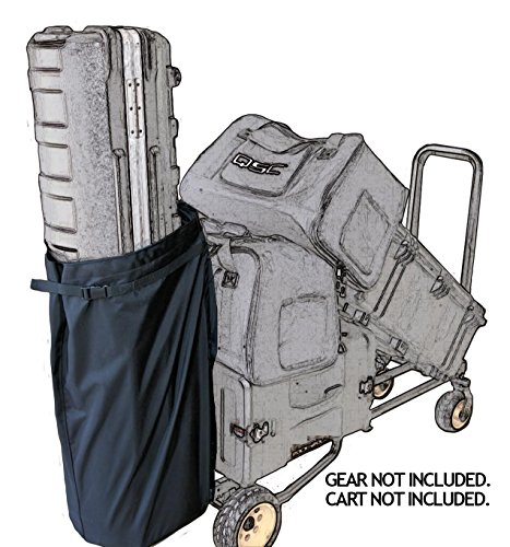 GripnGaff JUMBO Bag for R8RT, R10RT, R12RT, R14RT, R16RT, R18RT Multicart and the original RocknRoller with the red and gray color scheme
