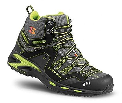 Berg Scarpa 9.81 Trail Pro II Mid GTX Uomo Black Green  Amazon.it  Sport e  tempo libero e6fb887e476
