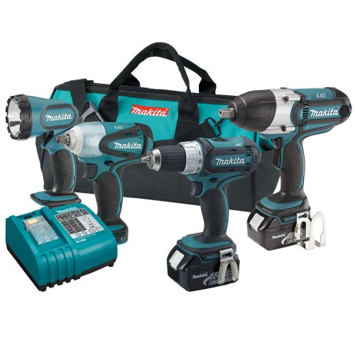 Makita LXT421 18-Volt LXT Lithium-Ion 4-Piece Combo Kit (Discontinued by Manufacturer)