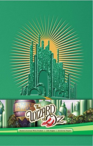 The Wizard of Oz Hardcover Ruled Journal -