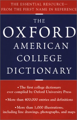 Oxford American College Dictionary pdf