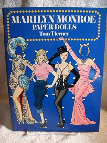 MARILYN MONROE PAPER DOLLS BOOK BY TOM TIERNEY NEW UNCUT 1979