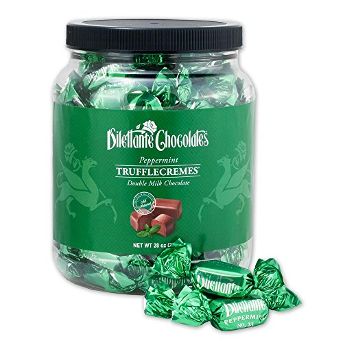 Peppermint Chocolate TruffleCremes Double Milk Chocolate No. 23 - 28oz Jar (28 Oz Jar)