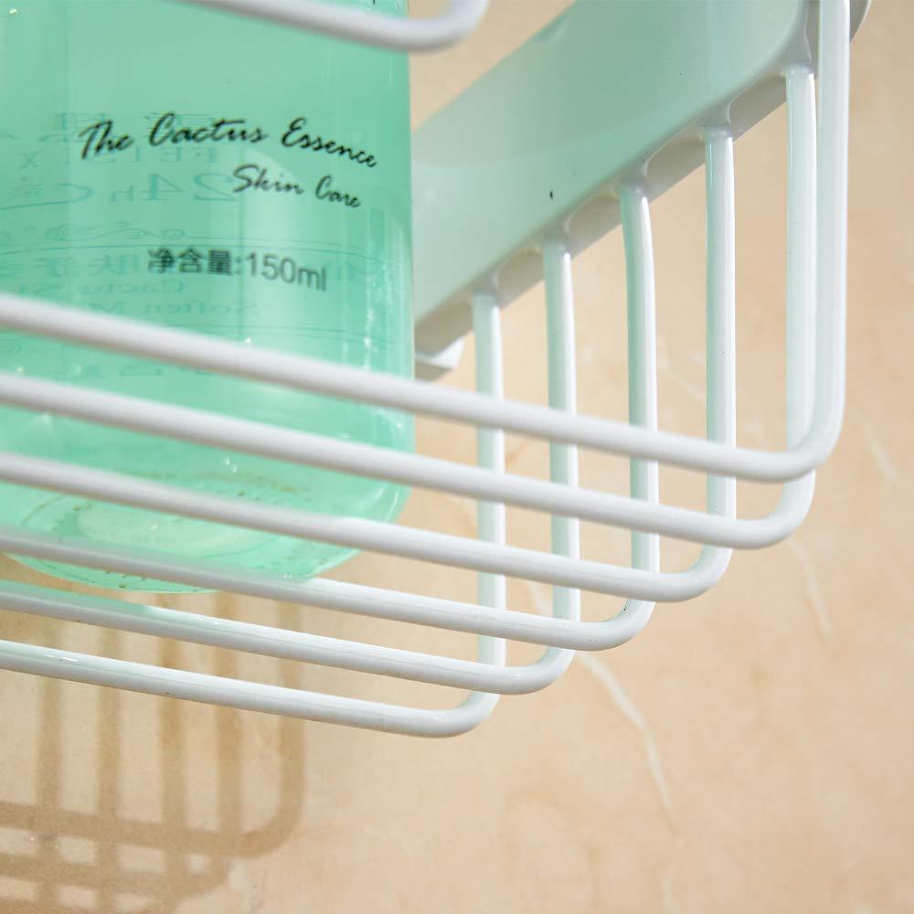 Cesta de Papel higi/énico Redonda Construcci/ón de lat/ón Stark Dise/ño Elegante Estilo Moderno instalaci/ón en Pared para WC WOMAO White Roll Basket