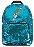 Style.Lab by Fashion Angels Magic Sequin Backpack - Turquoise/Silver