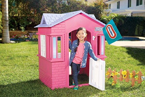 Little Tikes Princess Cape Cottage Playhouse, Pink by Little Tikes (Image #1)
