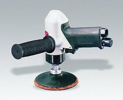 Dynabrade 50324 4-Inch 102 mm Diameter Pistol Grip Disc Sander, 11000 RPM, Rear Exhaust, Locking-Type Female Pad