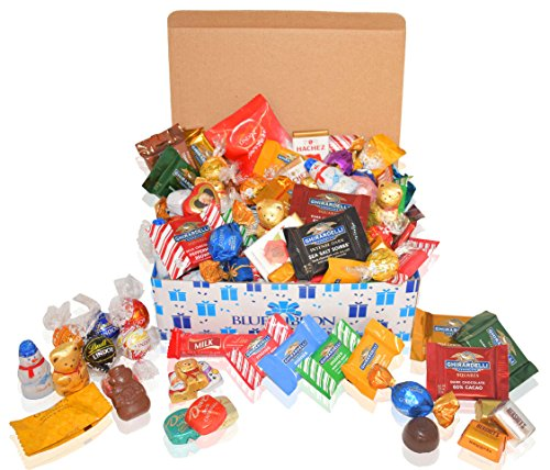 Seasonal Variety Chocolate and Candy Gift Box - 2 LBS Mixed - Ghirardelli, Lindt, Godiva - Gifts for Family, Friends, Kids, Coworkers