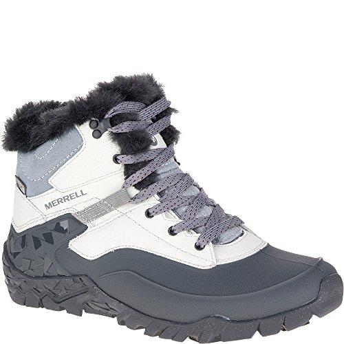 - Merrell Women's Aurora 6 Ice + Waterproof Winter Boot, Ash, 8.5 M US