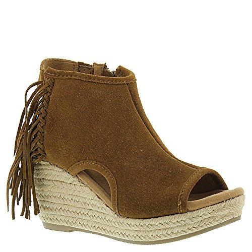 Minnetonka Vrouwen Blaire Wedge Sandals - 71330blk Stoffige Bruine Suede