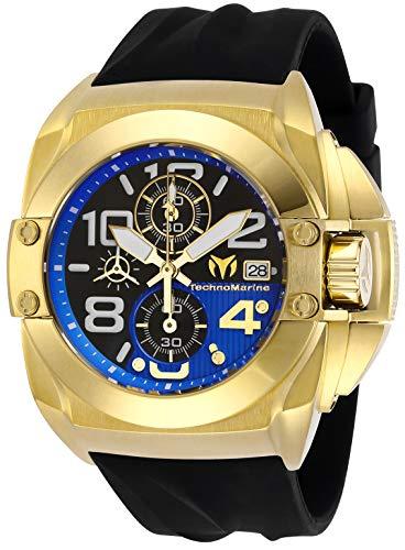 (Technomarine TM-518001 Men's Cruise Black Reef Sapphire Crystal)