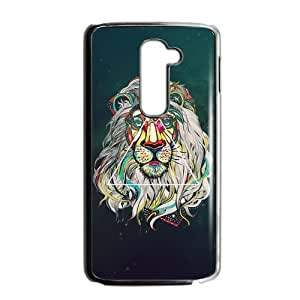 Canting_Good Lion Space Custom Case Cover Shell for LG G2 (Fit for AT&T)