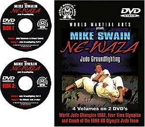 Mike Swain Ne-Waza Judo Groundfighting