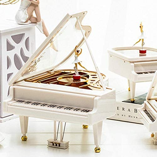 Per Ballet Dancer Piano Music Box Piano Ornament Classical Musical Toy Home Decoration Kids Birthday Gift