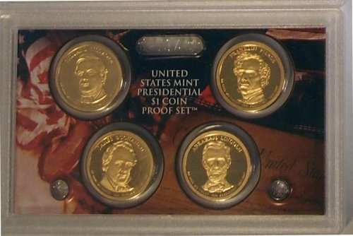 2010 Proof Presidential Dollar Set in Original US Government Packaging