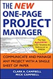 The New One-Page Project Manager: Communicate and