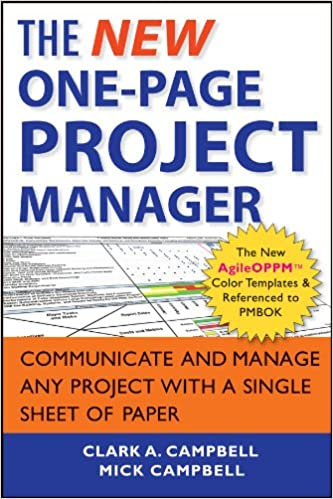 the new one page project manager communicate and manage any project