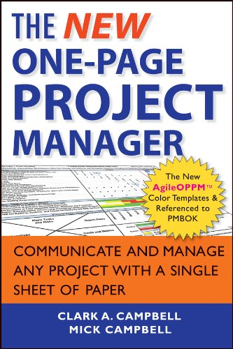 Download The New One-Page Project Manager: Communicate and Manage Any Project With A Single Sheet of Paper pdf epub