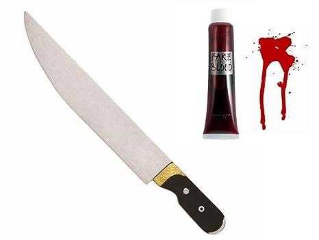 Seemeinthat Juego de Cuchillos de Sangre y Espuma Falsos ...