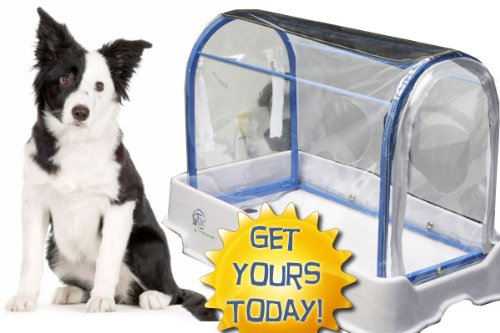 StayDri Pet Wash Shower System (BLUE Dog Wash Tub)