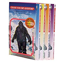 Four Book Boxed Set #1: The Abominable Snowman, Journey Under the Sea, Space and Beyond, The Lost Jewels of Nabooti