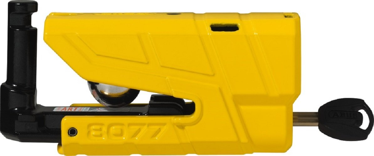 Abus Brake disc lock Granit Detecto X Plus 8077, yellow